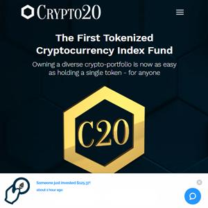 Crypto 20 on Token Intelligence