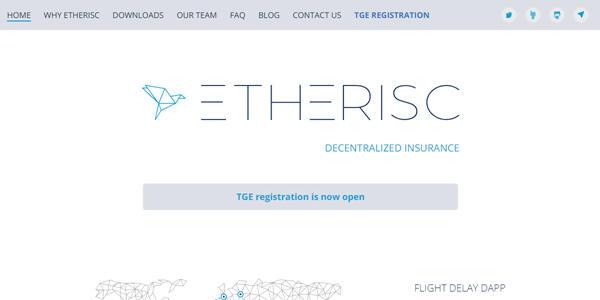 Etherisc description